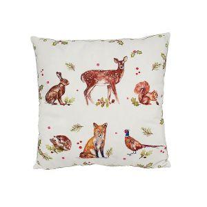 Winter Animals Cushion