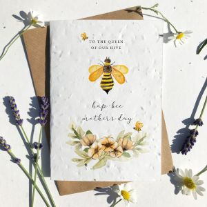 Mother's Day Queen of our Hive Card