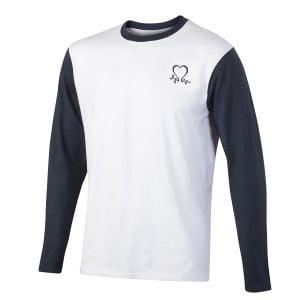 image-of-mens-grey-and-white-baseball-tshirt
