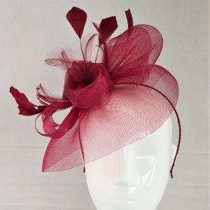 Berry Flower Fascinator