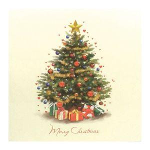Classic Christmas Tree Christmas Cards, 10pk