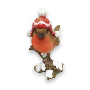 Winter Robin Single Figure