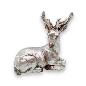 Silver Stag Figure