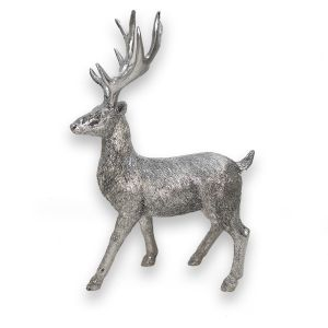 Standing Silver Stag