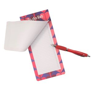 Heart Print Magnetic To-Do List Pad