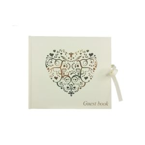 image-of-Vintage-Romance-Ivory-and-Gold-Wedding-Guest-Book