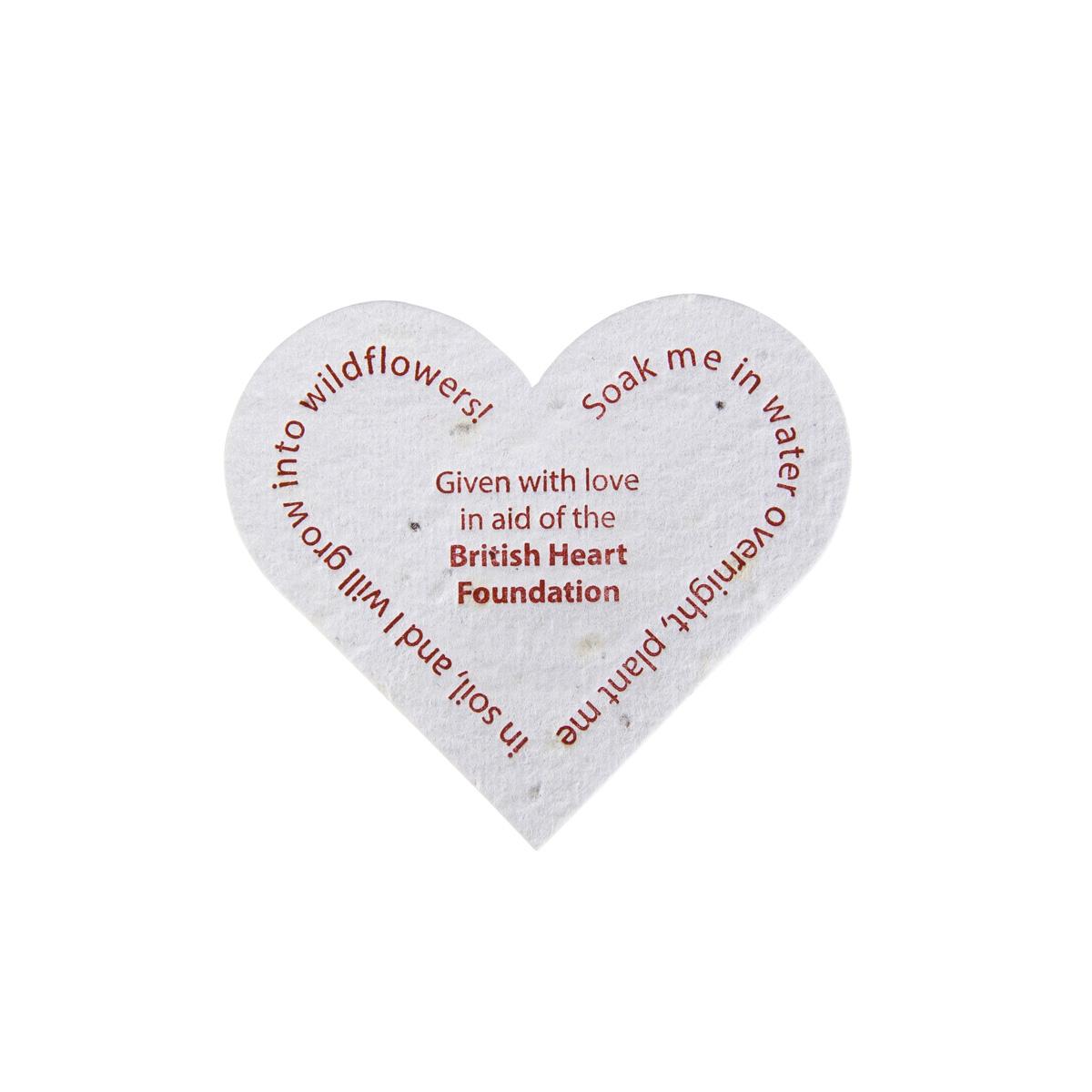 Weddings | Charity Wedding Favours | British Heart Foundation