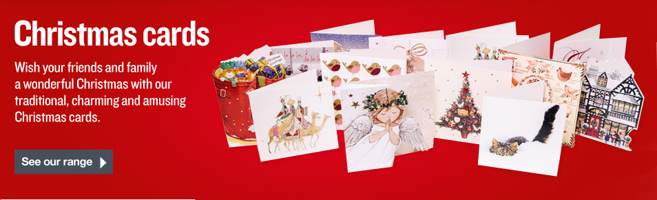 Charity Christmas Cards from the British Heart Foundation