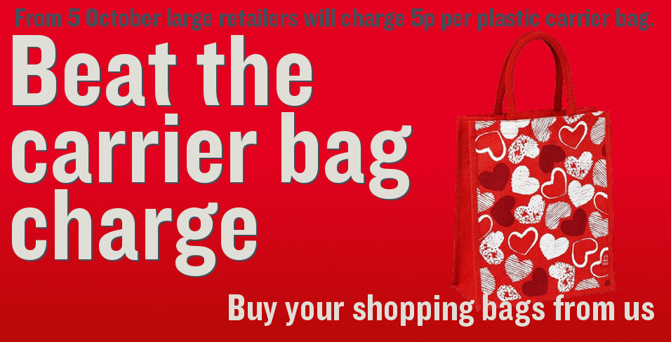Beat the carrier bag charge, buy your shopping bags from the BHF