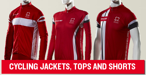 Cycling Jerseys, Jackets and Shorts